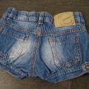mana jeans mehke tanke kratke hlačke št. 104