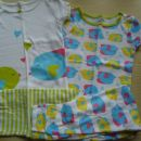 komplet pižami carters z ribicami vel 3 leta