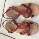 okaidi usnjeni sandali 35 čudoviti 9 eur