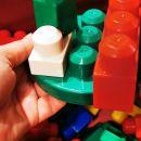 Velike kocke, mega blocks, okoli 100 kom