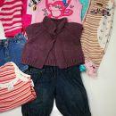 Oblačila za deklico 62/68 št  12€