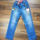 Jeans hlače C&A 104 št 5€