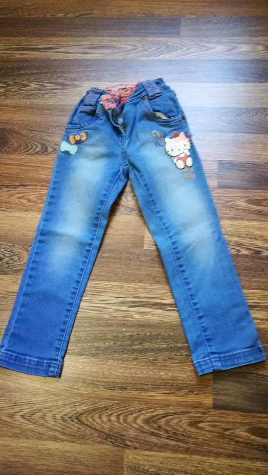 Jeans hlače C&A 104 št 5€ - foto povečava