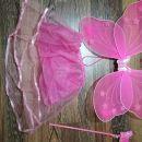 Pustni kostum metuljček za 3,4 leta