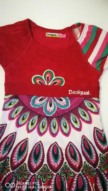 Desigual oblekica 5 /6 let 12€ - foto