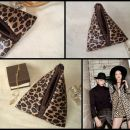 Mini trikotna torbica, mošnjiček -Leopard-