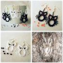 Uhančki -Mala Sovica-, črni in beli