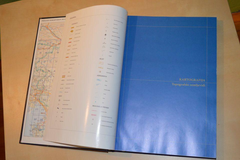 kartografija - topografski zemljevidi 12 Eur