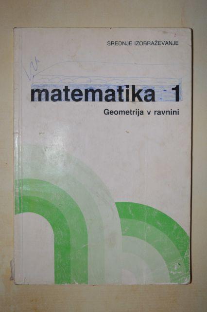 Matematika 1  - geometrija v ravnini