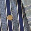 črtasto modro platno - 7 eur