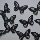 izsekanec črni metulj - 0,18 eur / kom