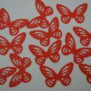 izsekanec rdeči metulj - 0,18 eur / kom
