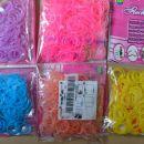 silikonske elastike za ustvarjanje - pletenje