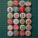 24 božičnih krogov - 1,50 eur oz. 2,50 eur/2 kosa
