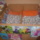 postelja za dvojčke dim: 120x120cm