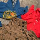 3 x hoodie