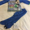 disney pizamica 9-12 mickey mouse