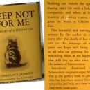 Mačje branje e - WEEP NOT FOR ME, Constance Jenkins