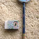 svinčnik z radirko in radirka