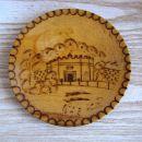 Lesen krožnik z motivom iz Niša, premer 17 cm, IC = 1 eur