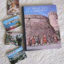 Knjiga s slikami Jadrana in zloženke ( Pula, Dubrovnik, Postojnska jama), IC = 2 eur
