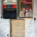 Vintage žepnice v angleščini, IC: A,B,C = 1 eur