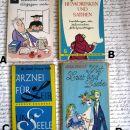 Knjige za utrjevanje znanja nemščine, IC: A,B,C,D= 1 eur