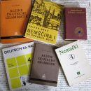Komplet 6 knjig za pomoč pri učenju nemščine, C = 5 eur