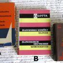 Za učenje nemščine in slovarja, IC = A,B,C = 2 eur