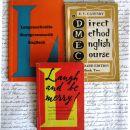 KOMPLET treh knjig za učenje angleščine, v nemščini. IC = 1 eur