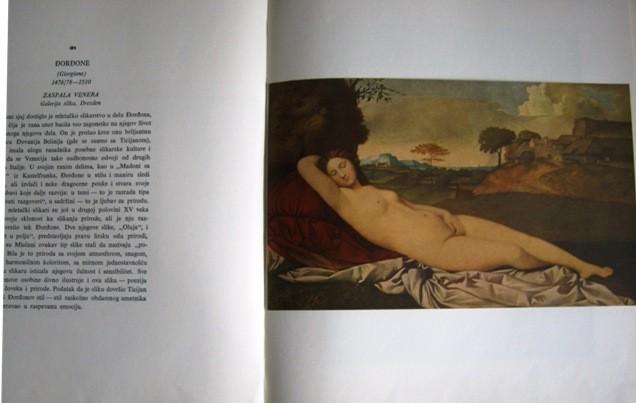 Galerija evropskih majstora, notranjost.