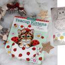 Pobarvanka za otroke Teacup kittens
