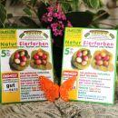10 Naravne rastlinske barve za pirhe. IC A,B = 1 eur