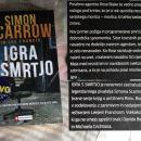 12 b . IGRA S SMRTJO, Simon Scarrow    IC = 4 eur