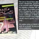 12 c. SKRIVNOST OKRASNE ZAPONKE, Agatha Christie   IC = 4 eur
