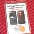 23. Zaščita za mobitel    IC = 3 eur