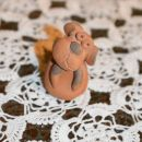 27. Minihundus - kužek iz gline   IC = 3 eur