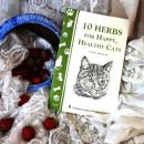 14e. 10 HERBS FOR HAPPY, HEALTHY CATS  IC = 2 eur