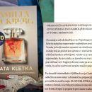 9. ZLATA KLETKA, Camilla Lackberg   IC = 8 eur
