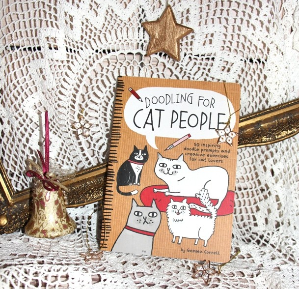 7. Doodling for cat people    IC = 4 eur