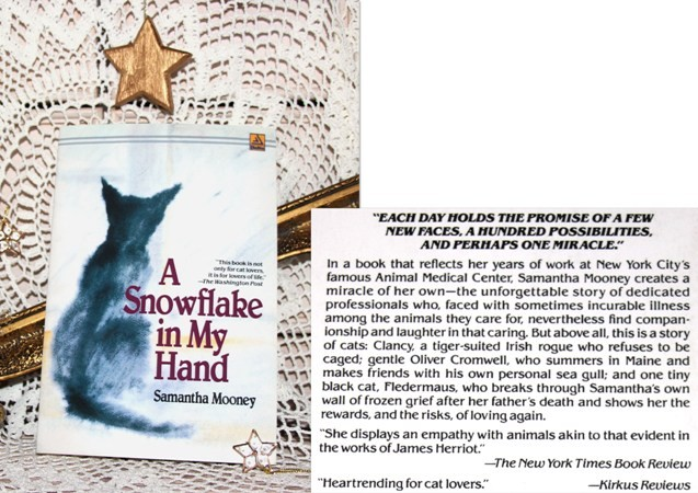 14d. A SNOWFLAKE IN MY HAND, Samantha Mooney   IC = 4 eur
