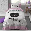 1. Mačkasta posteljnina   IC a,b = 15 eur