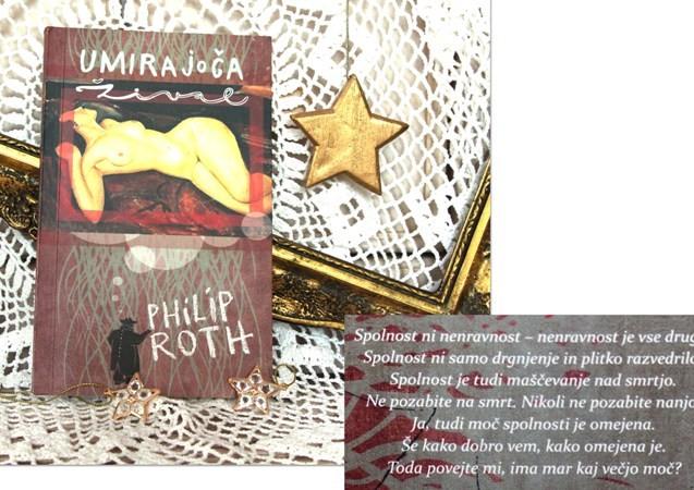 24c. UMIRAJOČA ŽIVAL, Philip Roth    IC = 3 eur