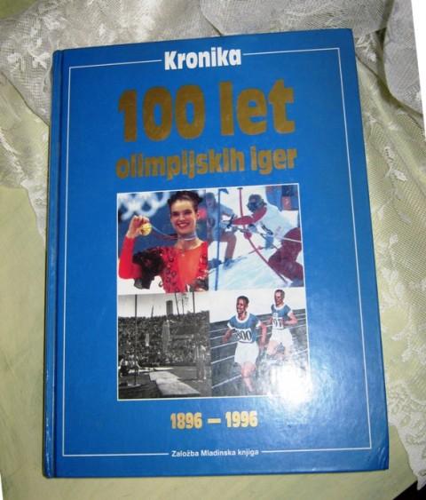 KRONIKA 100 LET OI 1896 - 1996, IC = 4 eur