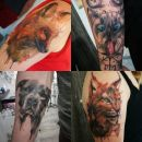 23a.Tetovaža - portret, po fotografiji vašega  ljubljenčka  IC = 100 eur