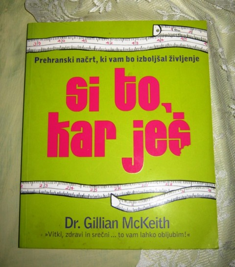 46.SI TO, KAR JEŠ, Gillian McKeith, IC = 5 eur