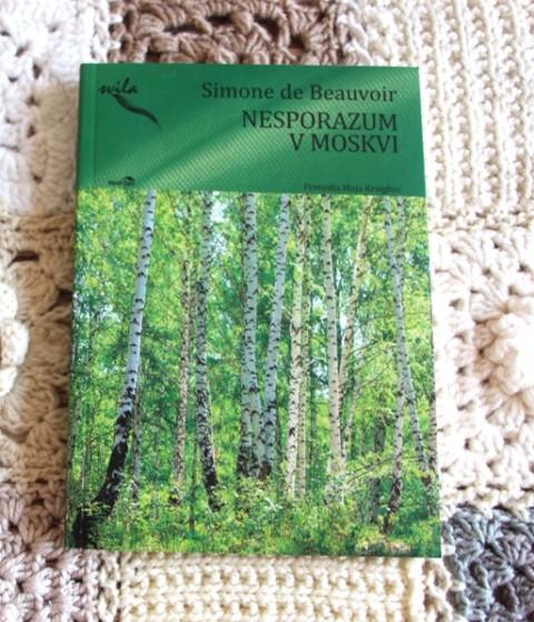 42.NESPORAZUM V MOSKVI, Simone de Beauvoir  IC = 2 eur