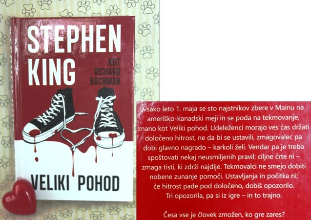 36.VELIKI POHOD, Stephen King   IC = 4 eur