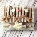 9.Poročne lesene ščipalke   IC = 5 eur