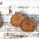 5.Leseni uhani muce IC a,b,c = 4 eur